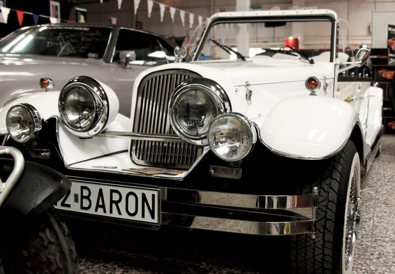 AUTO Samochód do ślubu zabytkowy kabriolet Alfa Romeo Nestor 28