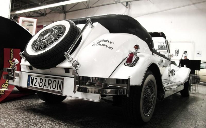 AUTO Samochód do ślubu zabytkowy kabriolet Alfa Romeo Nestor 30