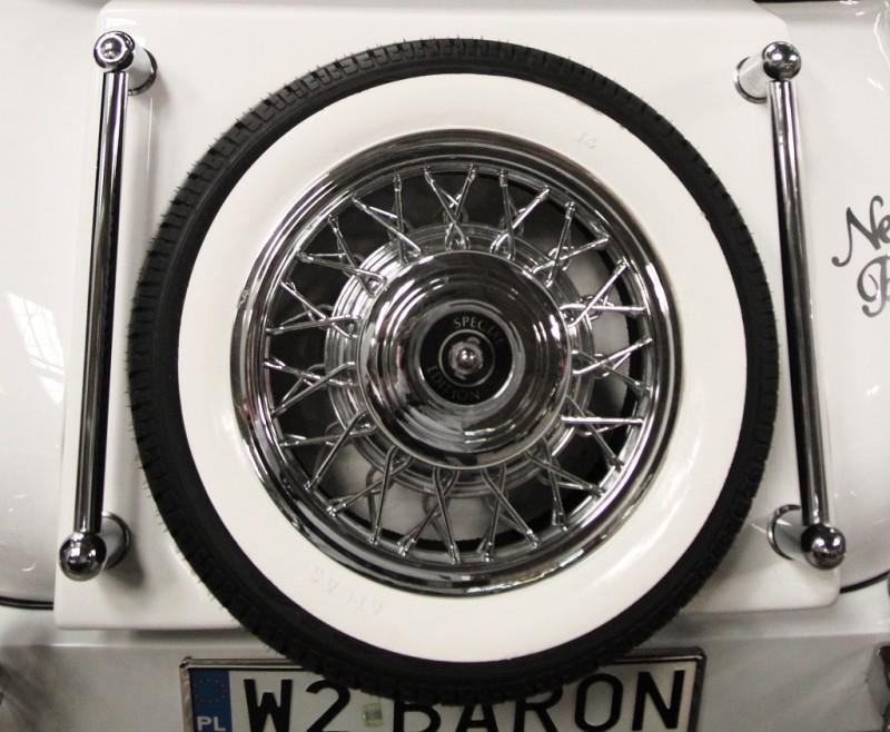AUTO Samochód do ślubu zabytkowy kabriolet Alfa Romeo Nestor 31