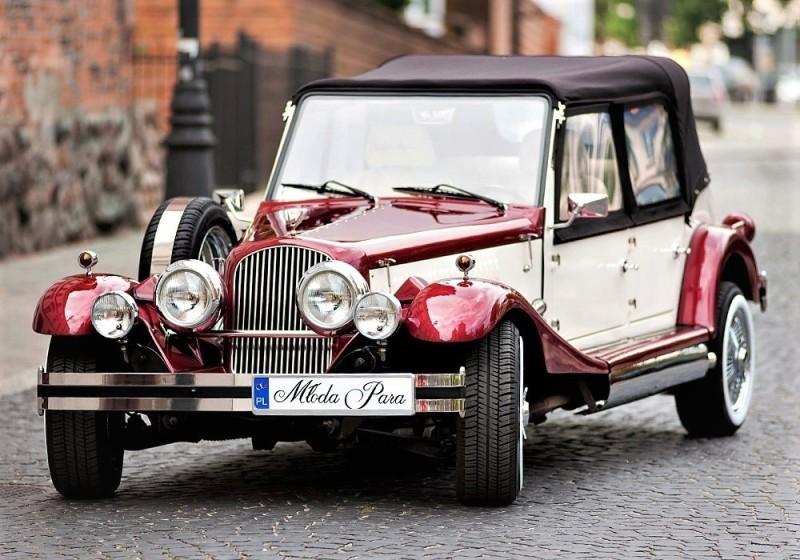 AUTO Samochód do ślubu zabytkowy kabriolet Alfa Romeo Nestor 37