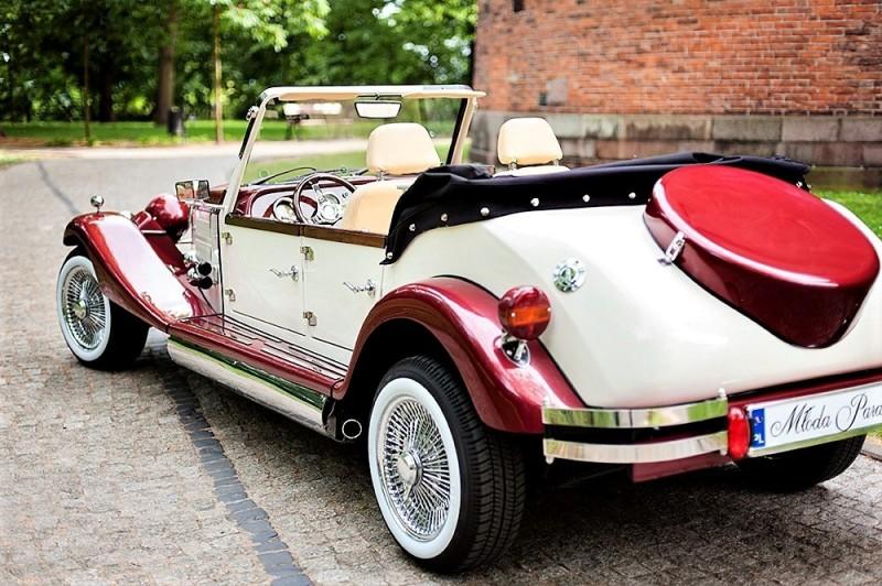 AUTO Samochód do ślubu zabytkowy kabriolet Alfa Romeo Nestor 38