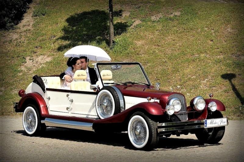 AUTO Samochód do ślubu zabytkowy kabriolet Alfa Romeo Nestor 39