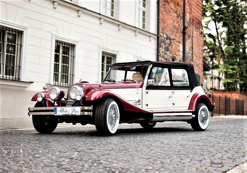 AUTO Samochód do ślubu zabytkowy kabriolet Alfa Romeo Nestor 44
