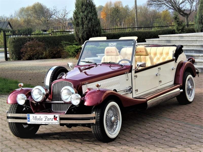 AUTO Samochód do ślubu zabytkowy kabriolet Alfa Romeo Nestor 47