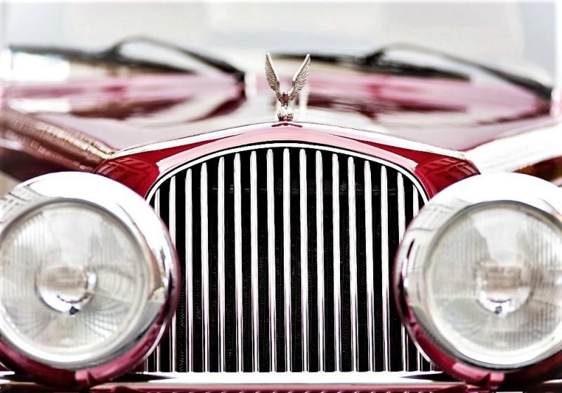 AUTO Samochód do ślubu zabytkowy kabriolet Alfa Romeo Nestor 48