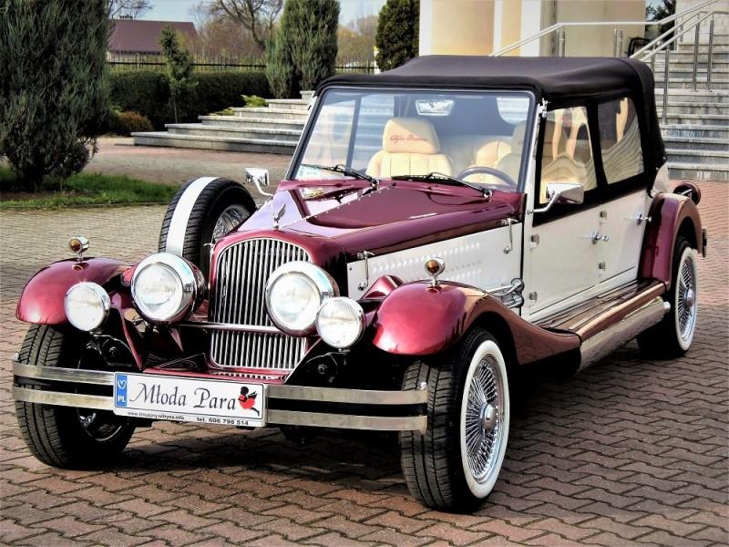 AUTO Samochód do ślubu zabytkowy kabriolet Alfa Romeo Nestor 50