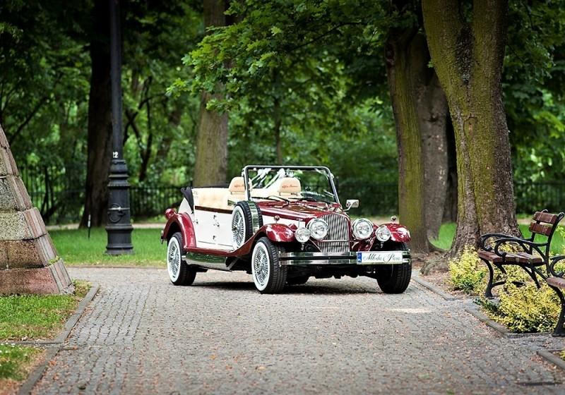 AUTO Samochód do ślubu zabytkowy kabriolet Alfa Romeo Nestor 51
