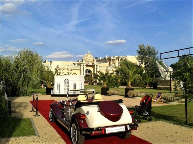 AUTO Samochód do ślubu zabytkowy kabriolet Alfa Romeo Nestor 52