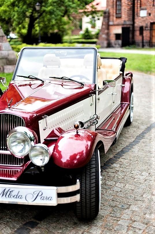AUTO Samochód do ślubu zabytkowy kabriolet Alfa Romeo Nestor 58