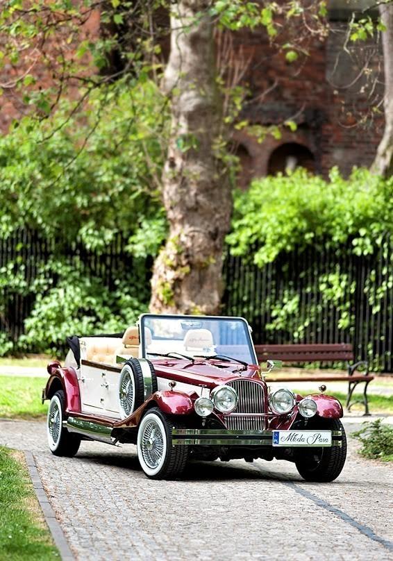 AUTO Samochód do ślubu zabytkowy kabriolet Alfa Romeo Nestor 59