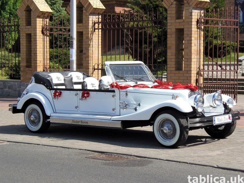 Zabytkowy Kabriolet do ślubu Alfa Romeo Spider Nestor Baron  2