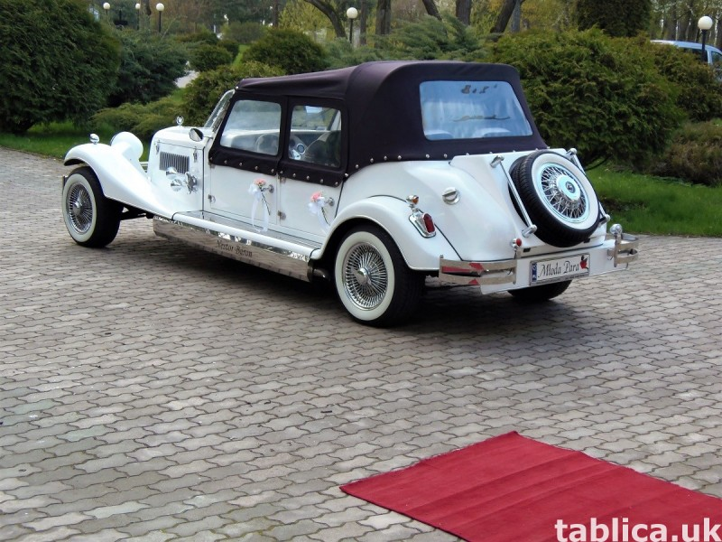 Zabytkowy Kabriolet do ślubu Alfa Romeo Spider Nestor Baron  9