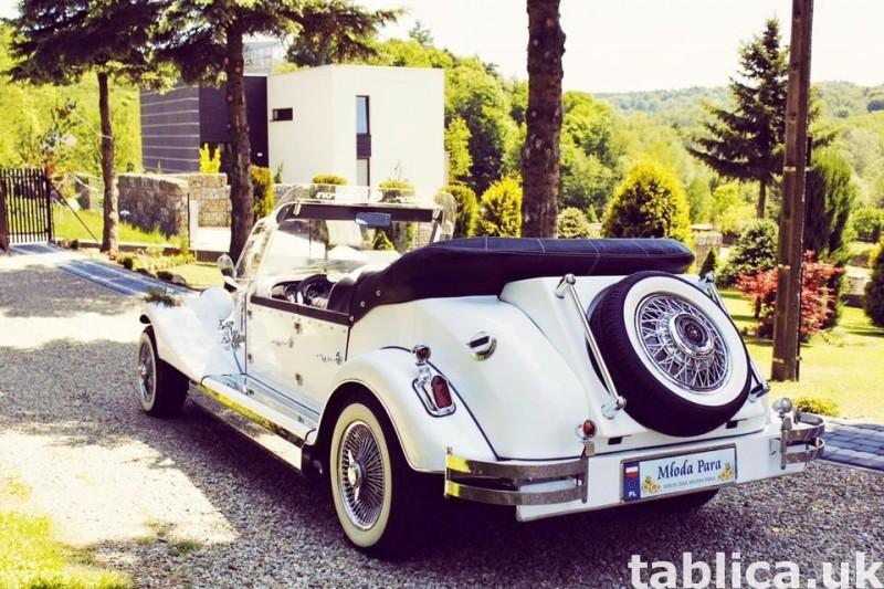 Zabytkowy Kabriolet do ślubu Alfa Romeo Spider Nestor Baron  19