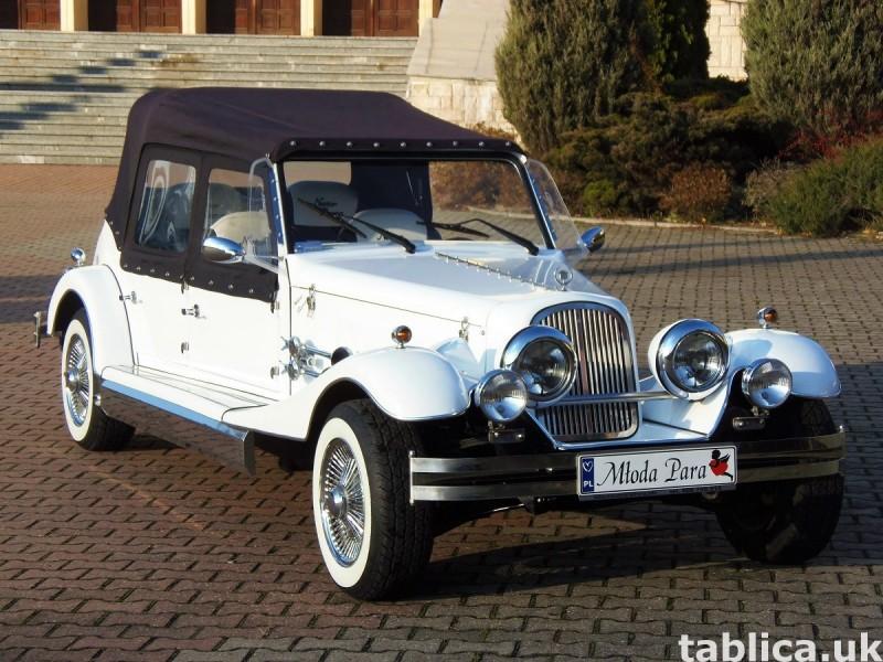 Zabytkowy Kabriolet do ślubu Alfa Romeo Spider Nestor Baron  20
