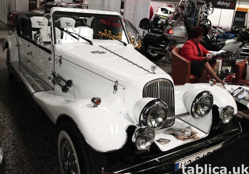 Zabytkowy Kabriolet do ślubu Alfa Romeo Spider Nestor Baron  22