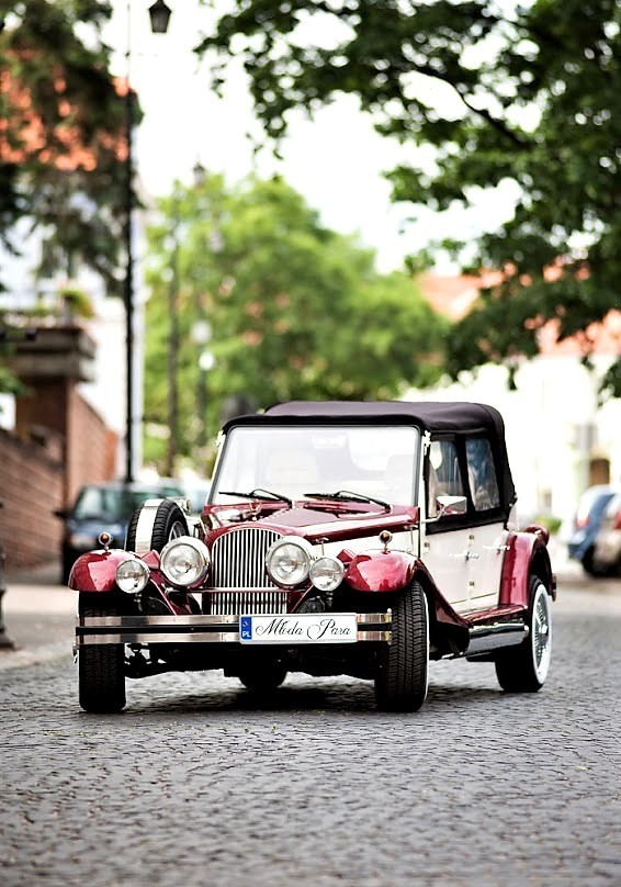 Zabytkowy Kabriolet do ślubu Alfa Romeo Spider Nestor Baron  52