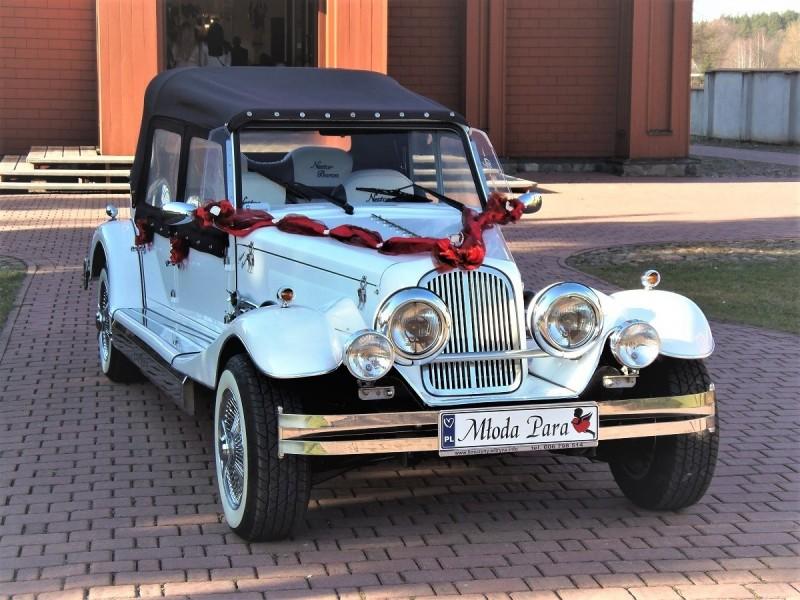 Zabytkowy Kabriolet do ślubu Alfa Romeo Spider Nestor Baron  60