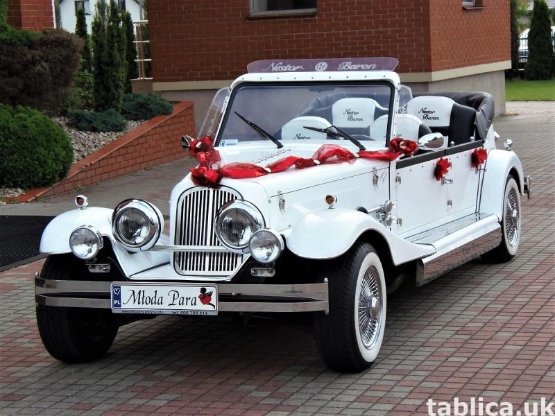 Zabytkowe samochody do ślubu Auta RETRO na wesele kabriolet 20