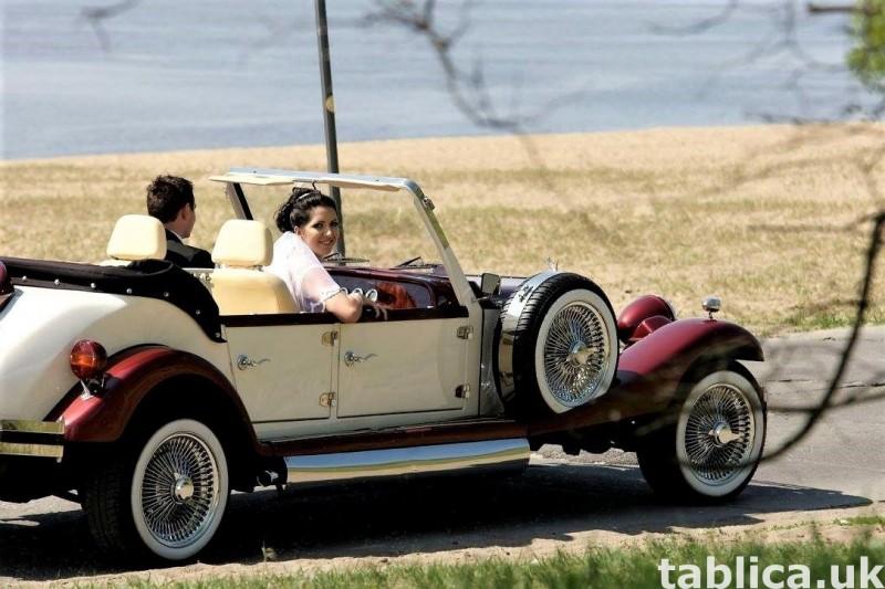 Zabytkowe samochody do ślubu Auta RETRO na wesele kabriolet 21