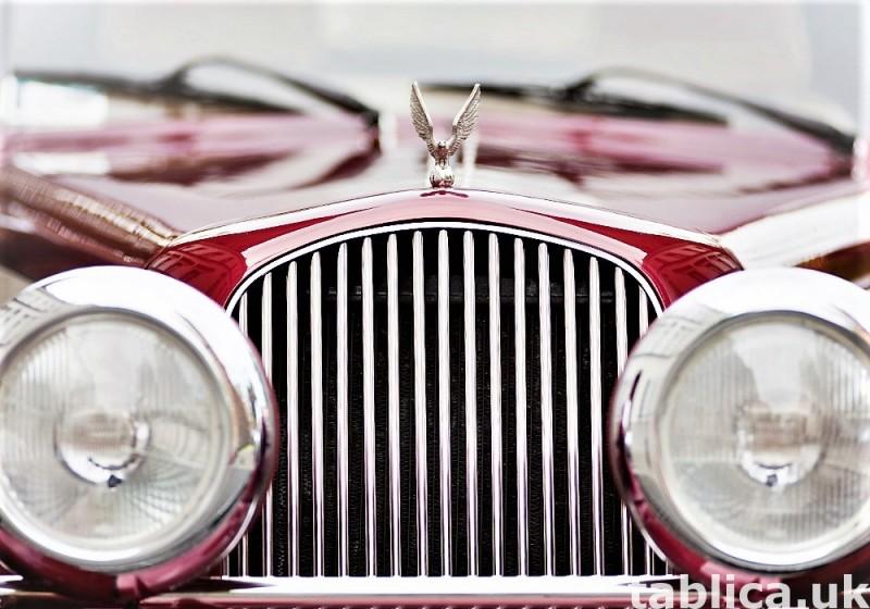 Zabytkowe samochody do ślubu Auta RETRO na wesele kabriolet 25