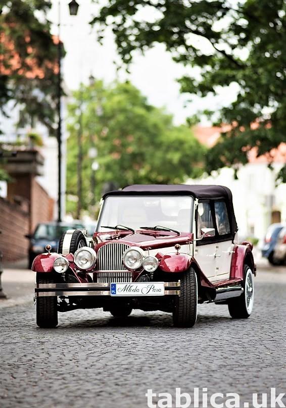 Zabytkowe samochody do ślubu Auta RETRO na wesele kabriolet 26