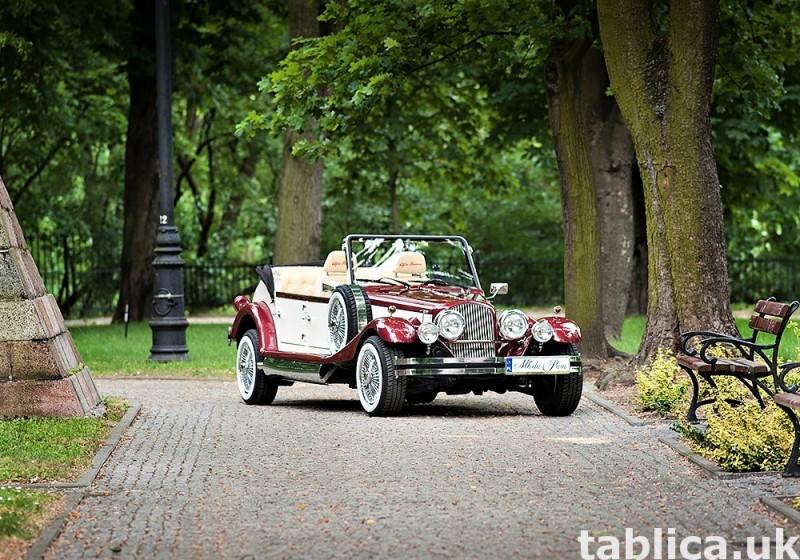 Zabytkowe samochody do ślubu Auta RETRO na wesele kabriolet 33