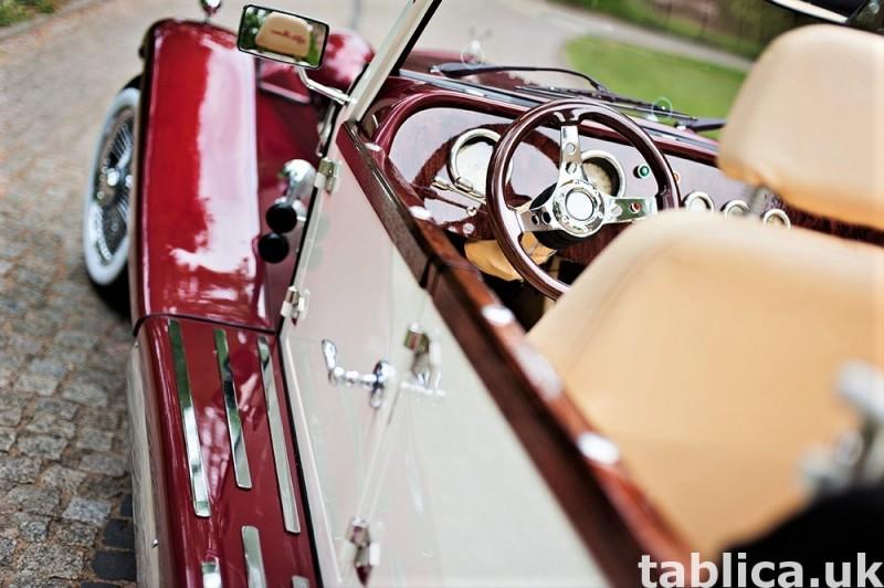 Zabytkowe samochody do ślubu Auta RETRO na wesele kabriolet 34