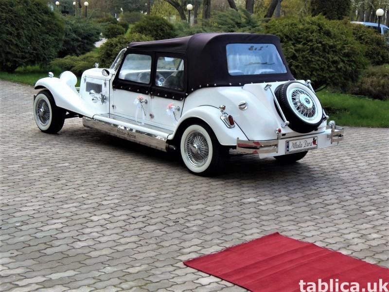 Zabytkowe samochody do ślubu Auta RETRO na wesele kabriolet 36
