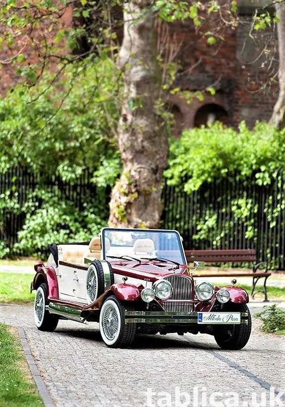 Zabytkowe samochody do ślubu Auta RETRO na wesele kabriolet 45