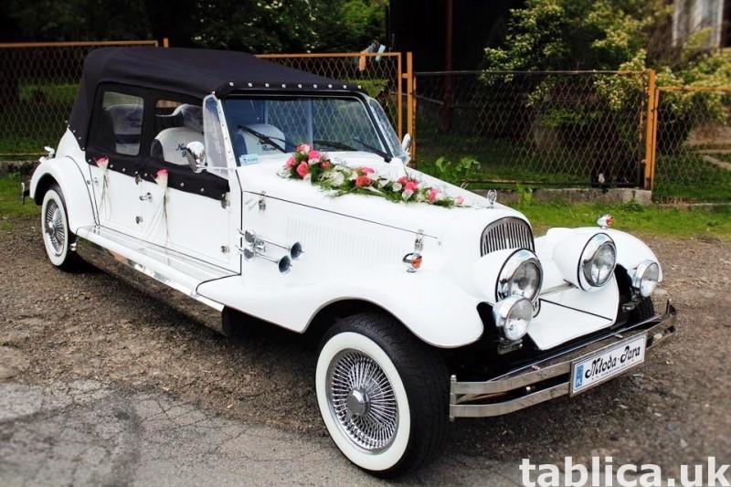 Zabytkowe samochody do ślubu Auta RETRO na wesele kabriolet 47