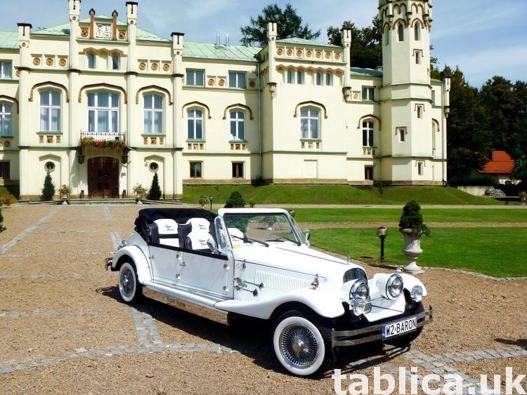 Zabytkowe samochody do ślubu Auta RETRO na wesele kabriolet 48