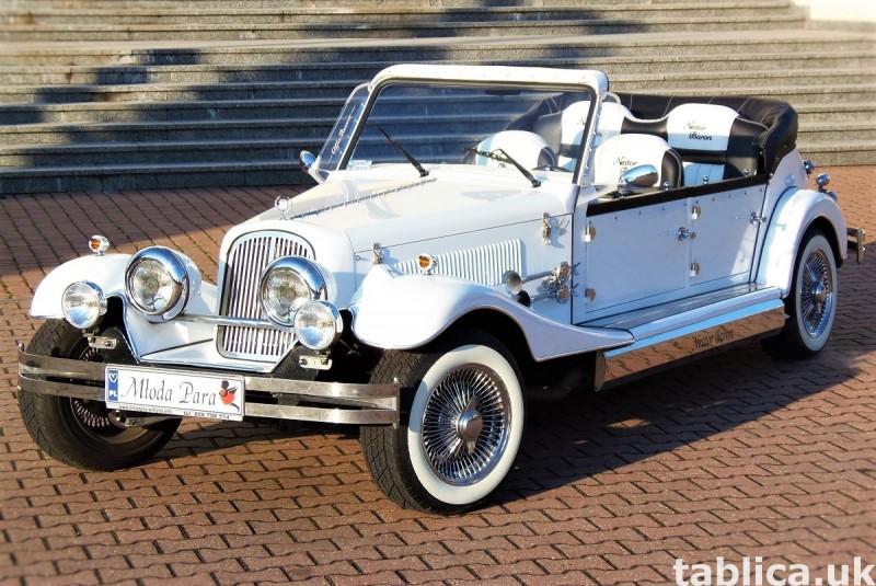 Zabytkowe samochody do ślubu Auta RETRO na wesele kabriolet 49