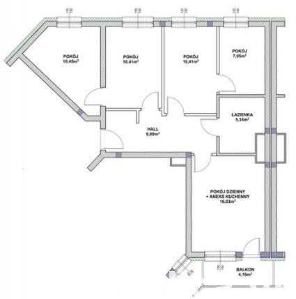 Komfortowe nowe mieszkanie 5-pokoi 2