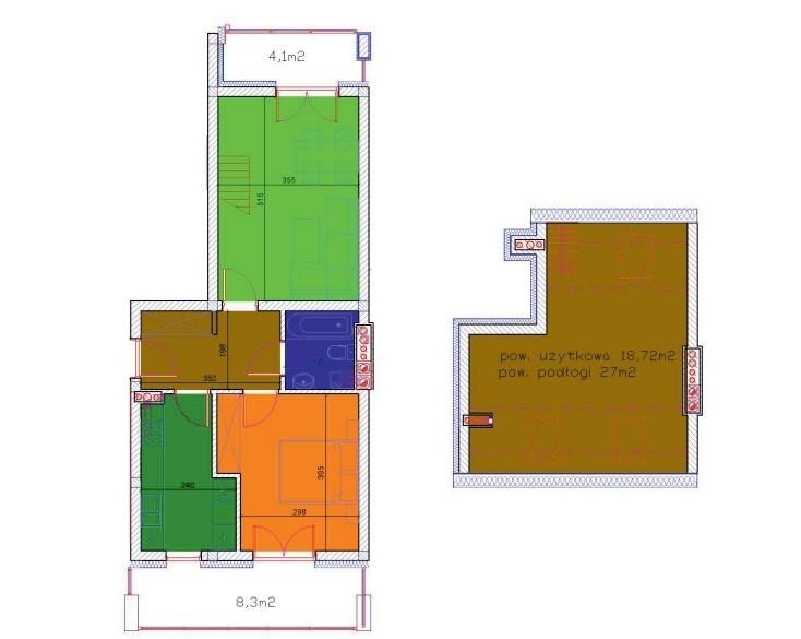 Nowe mieszkanie 2-pokoje z jasną kuchnią oraz antresolą 2