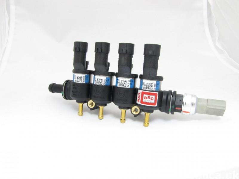 Wtryskiwacze gazowe włoskich marek BRC&Zavoli 1