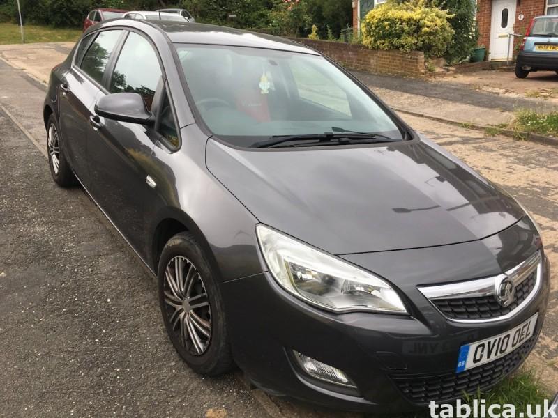 Vauxhall Astra J, 2010, 1.6L benzyna, 74,800 mil, £3,199 1