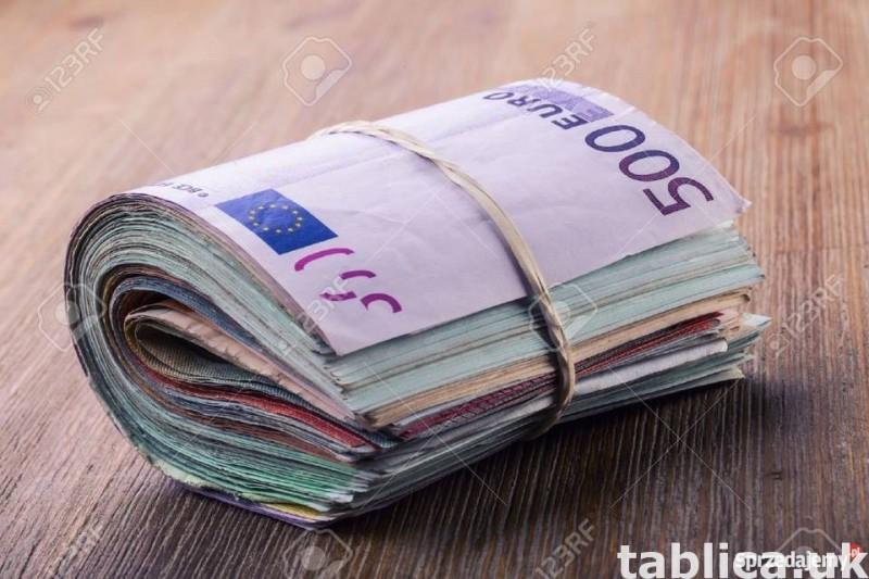 Oferuje pozyczki osobiste, od 9000 do 690,000,000 PLN/€ 0