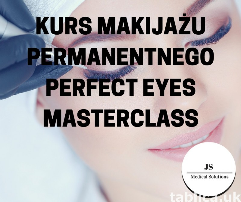 Kurs makijażu permanentnego Perfect Eyes Masterclass 0