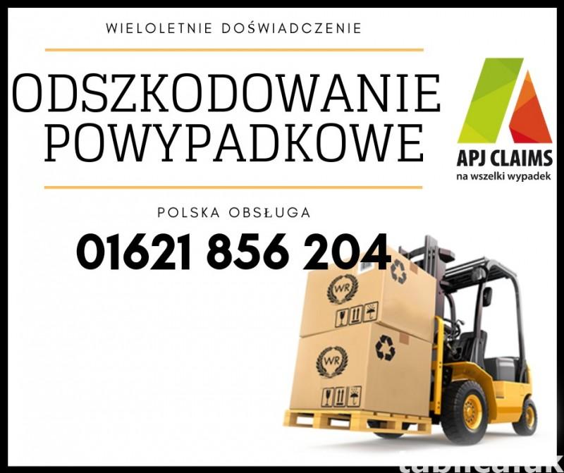 Odszkodowanie z APJ Claims - 01621 856 204 0
