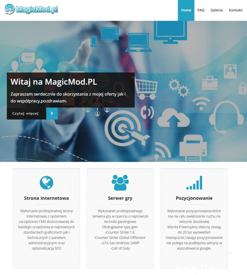 Strona Internetowa-Tworzenie Stron-Profesjonalna Strona WWW- 1