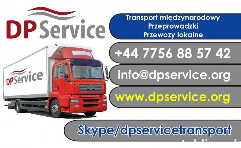 Przeprowadzki i Transport Towarowy Międzynarodowo! 0