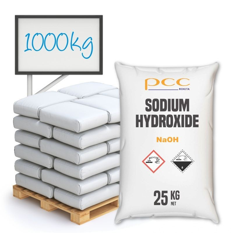 Sodium hydroxide, caustic soda 1000 kg - flakes 2