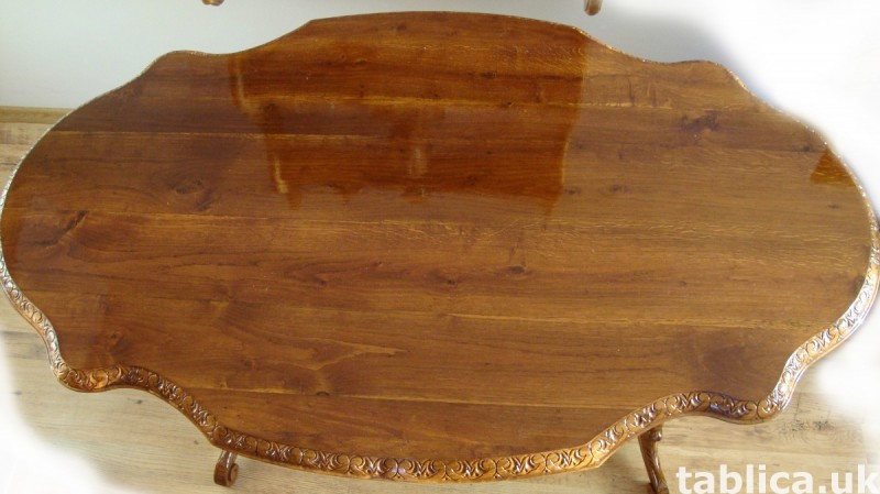The Hand Made OAK Table-SOLID WOOD, NEW !! Master Sculpture  2