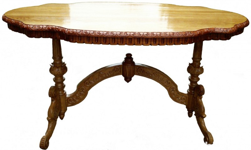 The HandMade OAK Table - SOLID WOOD NEW !! Master Sculpture 1