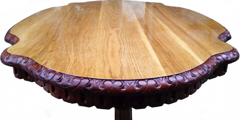 The HandMade OAK Table - SOLID WOOD NEW !! Master Sculpture 7