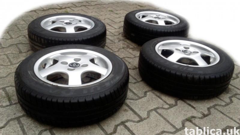 For Sale: a Set of Summer Tires: Fulda Eco Control 0