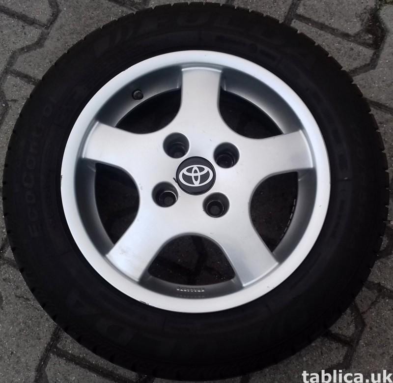 For Sale: a Set of Summer Tires: Fulda Eco Control 1