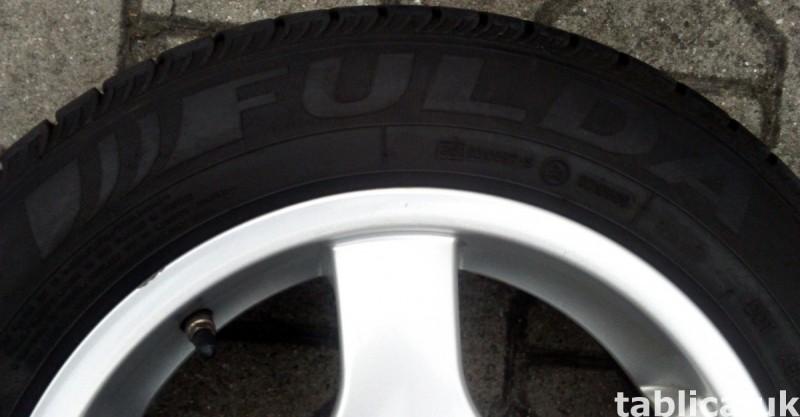 For Sale: a Set of Summer Tires: Fulda Eco Control 2