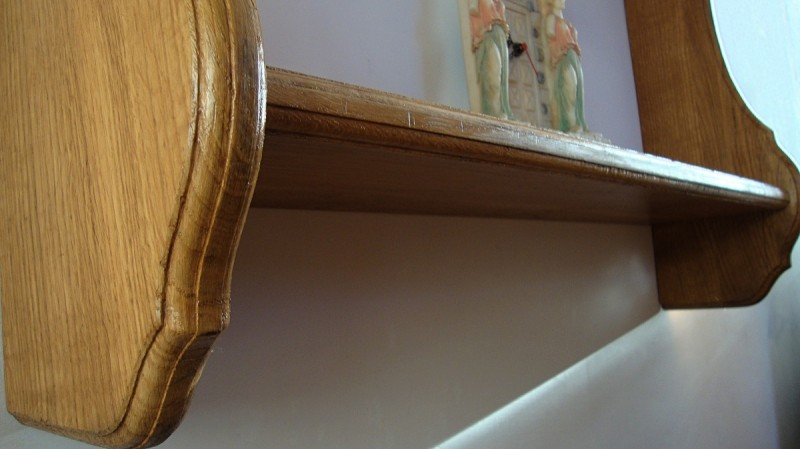For Sale: The Oak Shelf - Solid Wood !!! 4