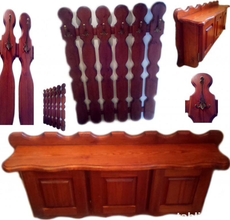 For Sale: The Hanger and Shoe Cabinet - Solid Wood !!! 0